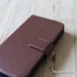 iPhone läderfodral korthållare
