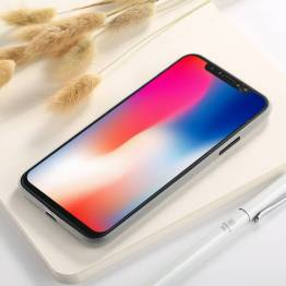 iPhone X/Xs tyndt mat Polypropylen cover
