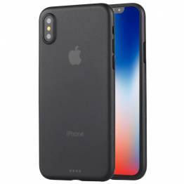iPhone X/XS tunt Matt polypropenöverdrag