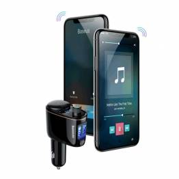 FM Sender M. Bluetooth & fjärrkontroll FM-sändare