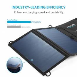 Anker PowerPort Solar panel 15W Sort