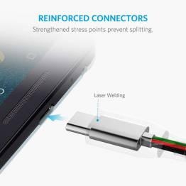 Ankare Powerline + USB-C till USB 3,0 SpaceGray 1, 8M