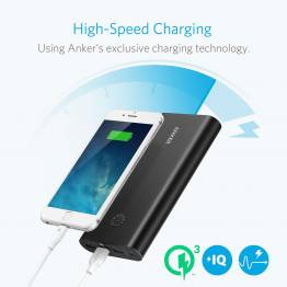 Anker PowerCore + 26800 mAh Powerbank snabb laddning 3,0 svart