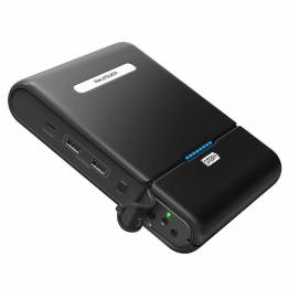 Anker PowerCore+ 20100 mAh powerbank m. USB-C sort