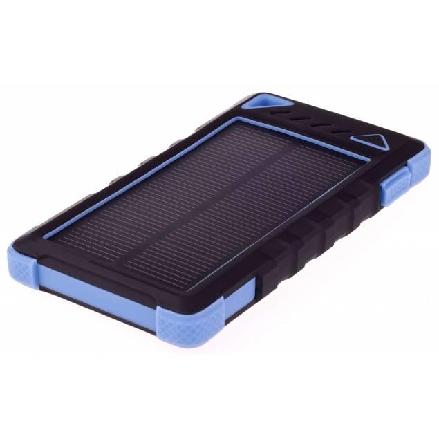 Greylime Power Bank med solceller 8000mAh batteri 1, 2W fotogen