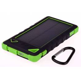 Greylime Power Bank med solceller 8000mAh batteri 1, 2W fotogen
