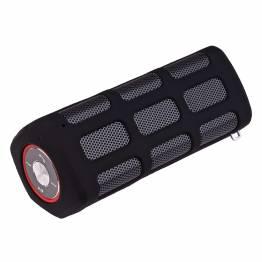 Power Speaker-Bluetooth-högtalare och Power Bank i en 5,200 mAh