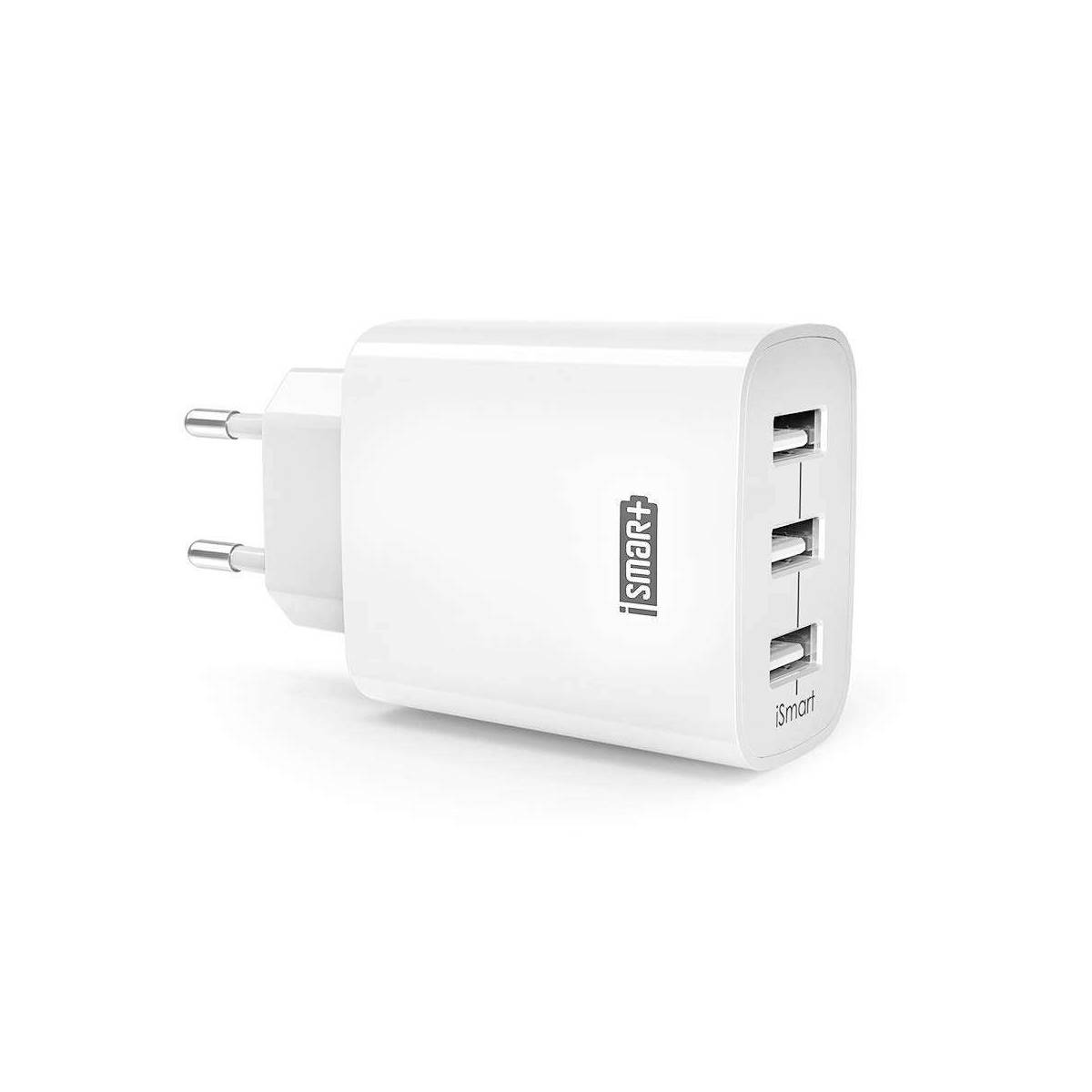 RAVPower 30W QC 3.0 dobbelt USB oplader i Hvid Mackablar