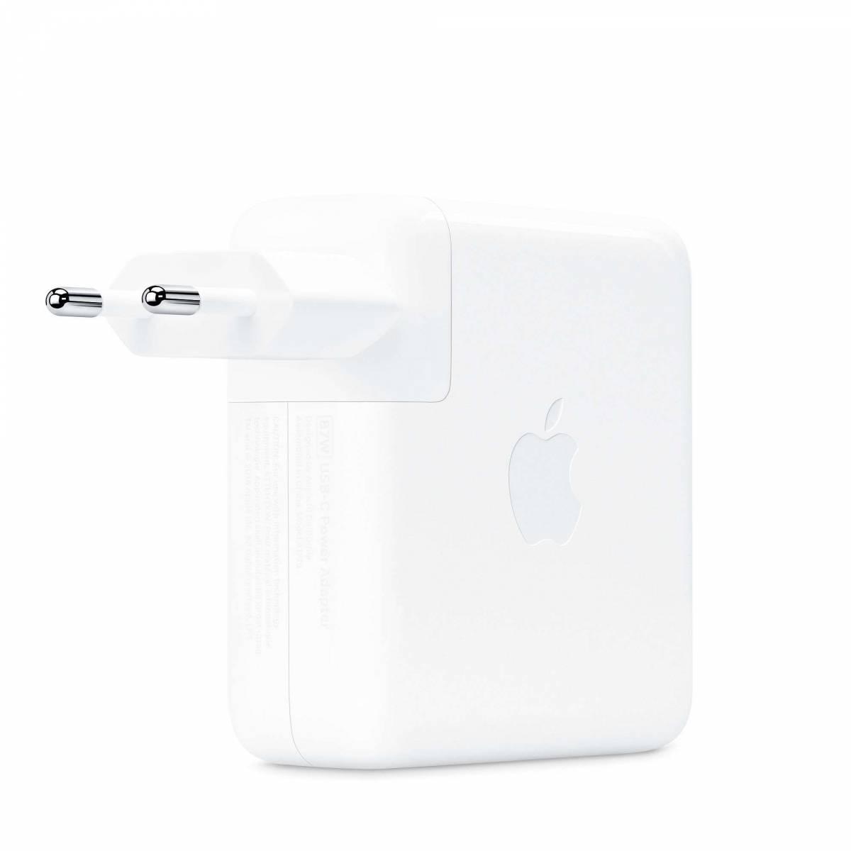 Apples USB C strömförsörjning på 87 W Mackablar.se fra
