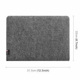 """Enkel filt fallet för MacBook Pro 13 """"mörkgrå"""