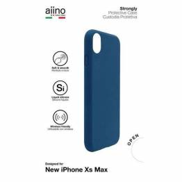 Aiino starkt Premium Cover för iPhone XS Max svart/blå