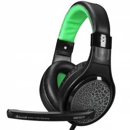 Scorpion H8323 Gaming headset sort og grøn med mic
