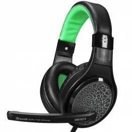 Scorpion H8323 Gaming Headset svart och grönt med Mic