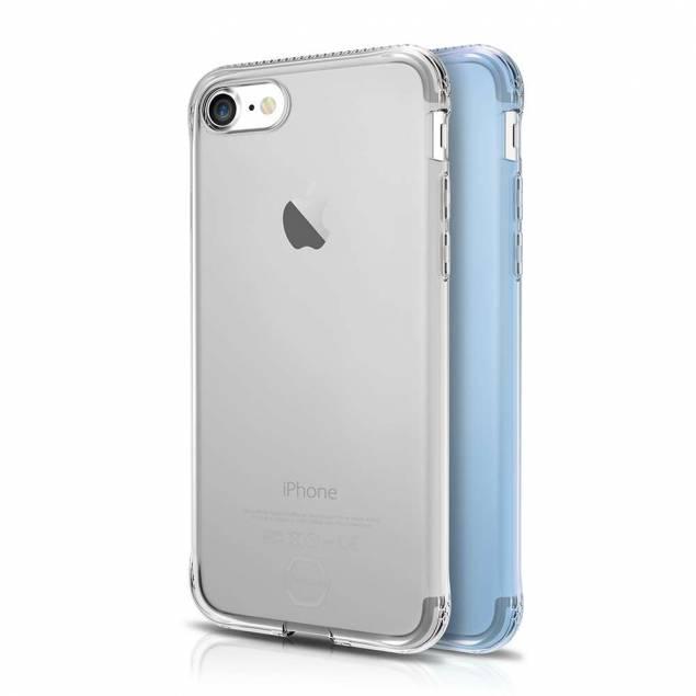 ITSKINS Slim silikon Protect gel iPhone 7 & 8 täcka dubbla 2x paket