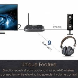 Avantree Oasis plus Bluetooth Audio-mottagare och sändare