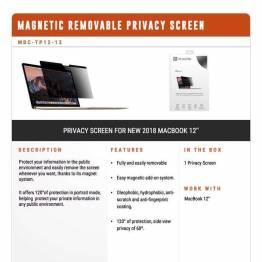 Privacy filter glas til MacBooks Air 2018 fra XtremeMac