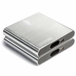 LIFEPOWR A3 27.000mAh Powerbank m. USB-C PD, USB-A og AC stik