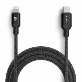 Adam Elements USB-C till Lightning-kabel MFi 2m svart