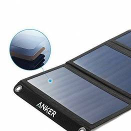 Anker PowerPort solcelle panel 21W 2-ports Sort
