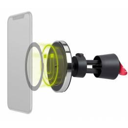 Goobay magnetisk Bilhållare med 7, 5W Qi laddning