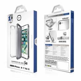 ITSKINS Gel Cover iPhone 6/6S/7/8 förpackning med 2st