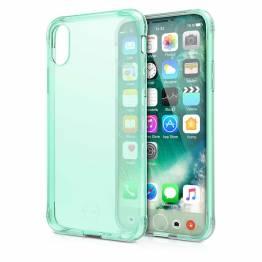 ITSKINS Gel Cover iPhone X genomskinlig ljusgrön