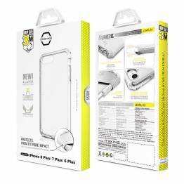 Supreme Clear iPhone 6/6S/7/7S/8 plus omslag från ITSKINS