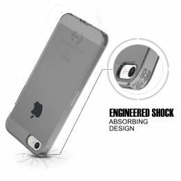 ITSKINS Gel Cover iPhone 6/7/8 plus genomskinlig svart