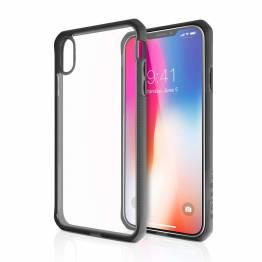 ITSKINS Cover för iPhone XS Max transparent svart/Clear