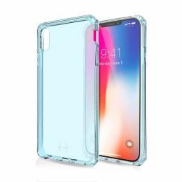ITSKINS Cover för iPhone XS Max genomskinlig blå