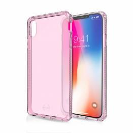 ITSKINS Cover för iPhone XS Max transparent Pink