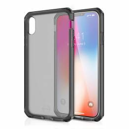ITSKINS Cover för iPhone XS Max transparent Frost Grey