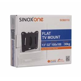 "Sinox One SOB0105 TV Väggfäste. Svart TV storlek: 13 ""-22"""