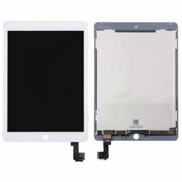 iPad Air 2-skärm vit