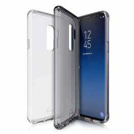 ITSKINS 2 pack Gel Cover Samsung Galaxy S9 transparent svart
