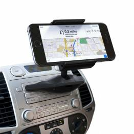 Satechi Universal mobile holder - mounted in the opening to the car CD player!