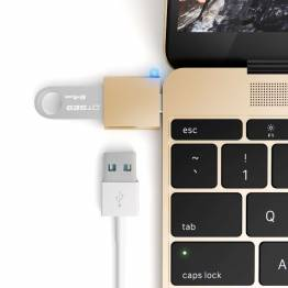 Satechi USB-C USB-adapter-förvandla din 12-tums Mac USB-C-port till en USB 3,0 port!