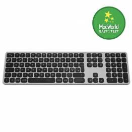Satechi trådlöst tangentbord för upp till 3 enheter-nordisk layout