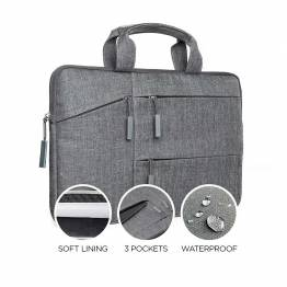 "Satechi Water-resistant Laptop Carrying cover with pockets 13"" and 15"" 13"""