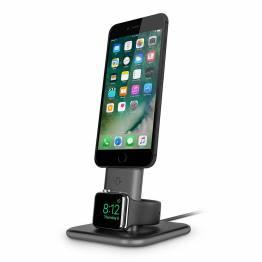 Tolv South HiRise Duet-kombinerad laddning stativ för iPhone och Apple Watch