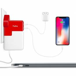 Twelve South PlugBug Duo-överladda din MacBook laddare