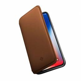 Twelve South Tensiepad för iPhone XS-Rakbladstunt nappaläder