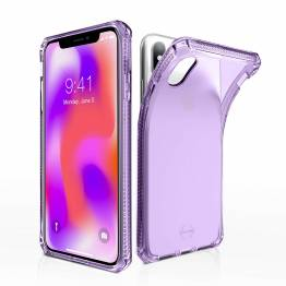 ITSKINS Cover för iPhone XS Max transparent lila