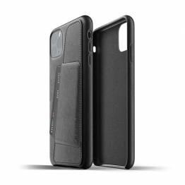 Mujjo full läder plånbok Cover för iPhone 11 Pro Max