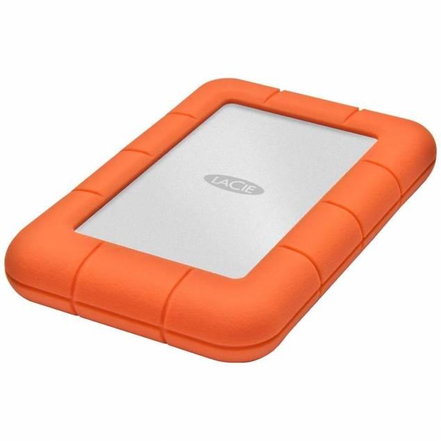 LaCie robust mini hårddisk USB 3,0
