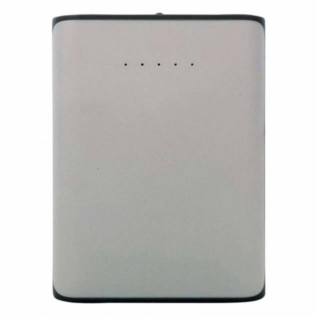 Sinox iMedia PowerBank på 7800 mAh i hvid