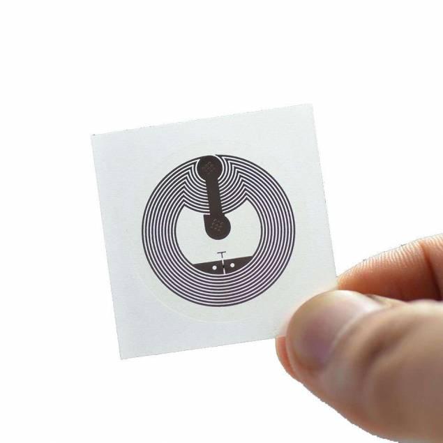 NTAG213 NFC tag klistermærke til smart home
