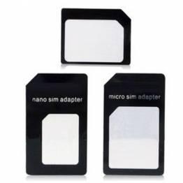 Noosy Sim adapter (nano, micro & alm.)
