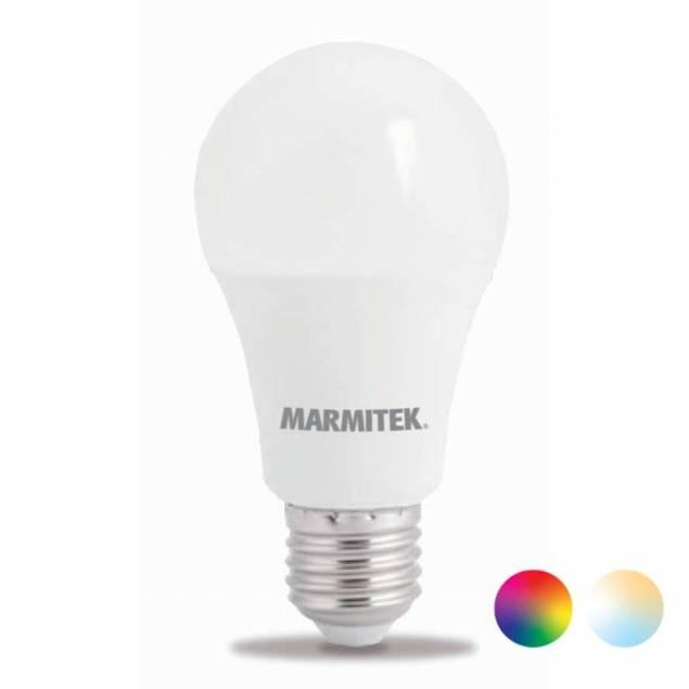 Marmitek Smart Wi-Fi LED E27 9W i varm hvid og 16 millioner farver