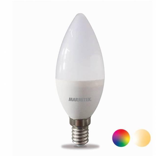 Marmitek Smart Wi-Fi LED E14 4,5W i varm hvid til kold Hvid